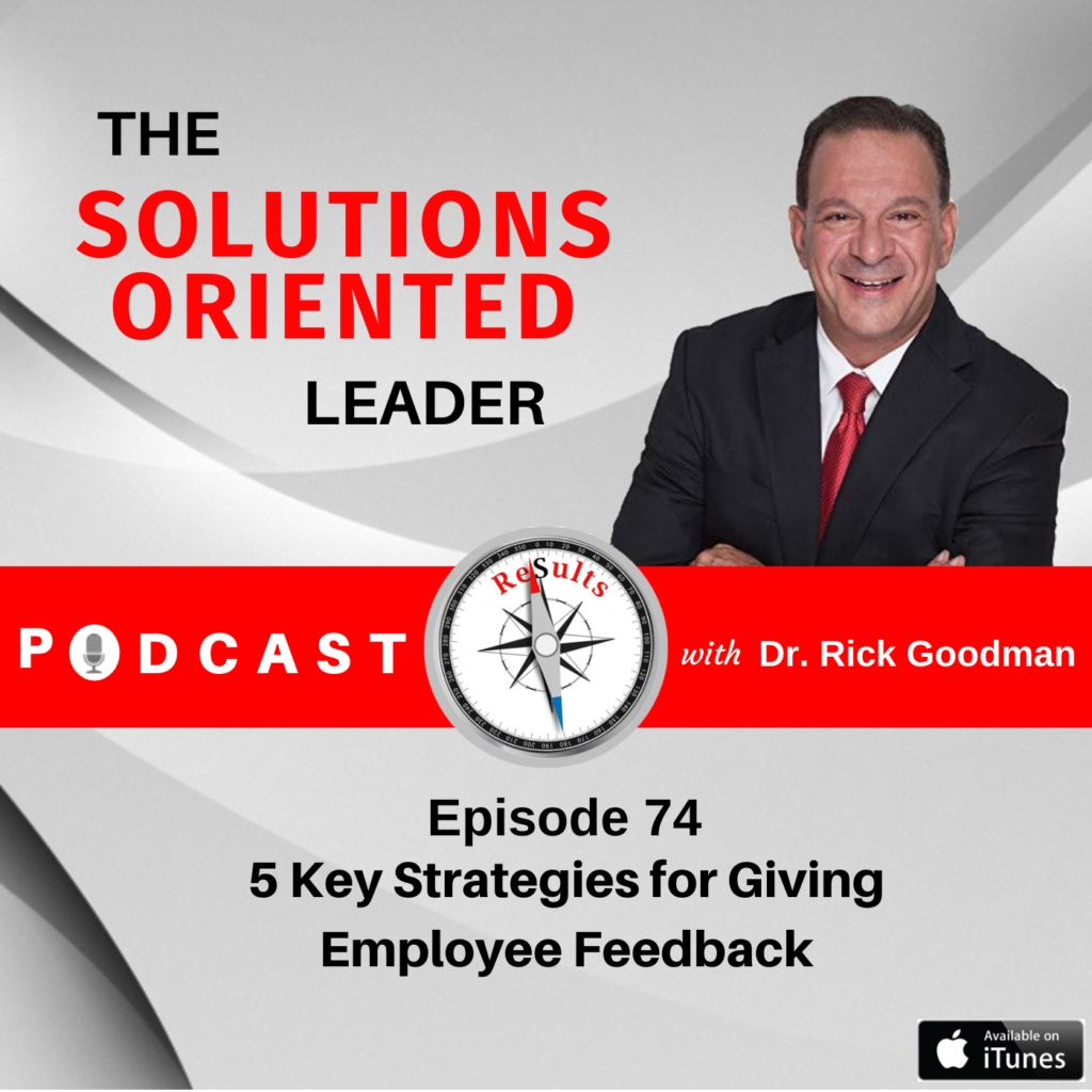 five key strategies for giving employee feedback