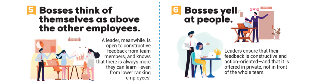 Bosses Think of Themselves