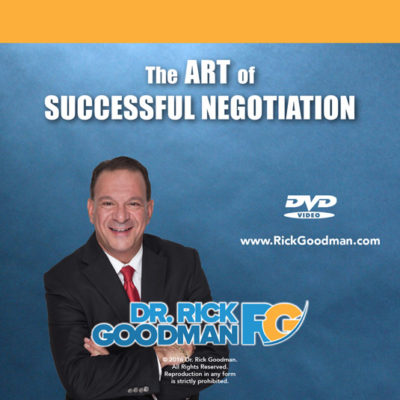 The successful Art of Negotiation DVD