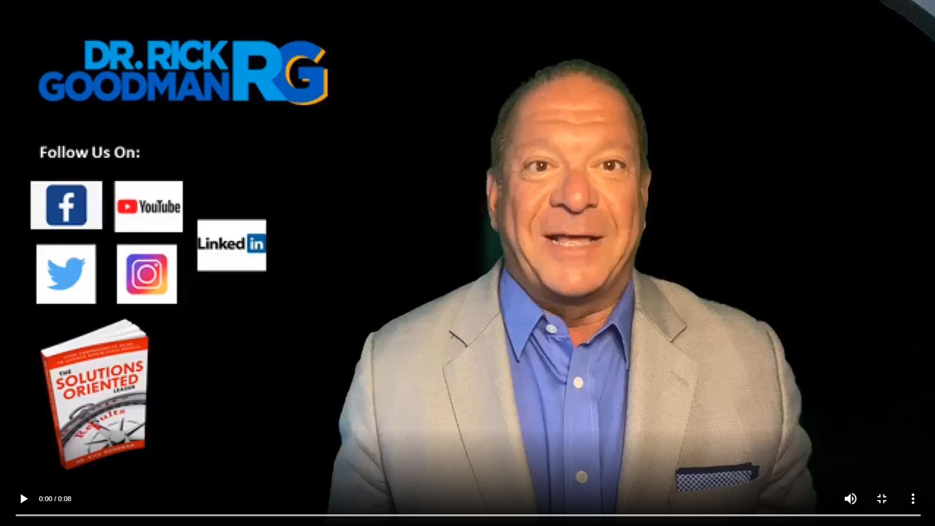 Dr. Rick Goodman Successful Virtual Meetings